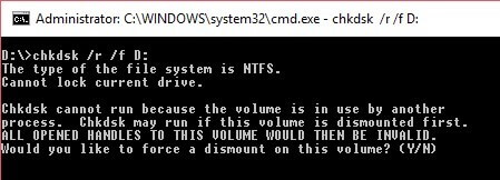 chkdsk-issue