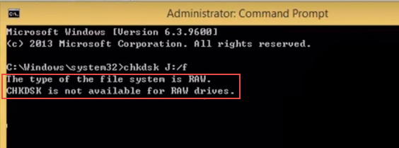chkdsk-not-availble-for-raw-drive