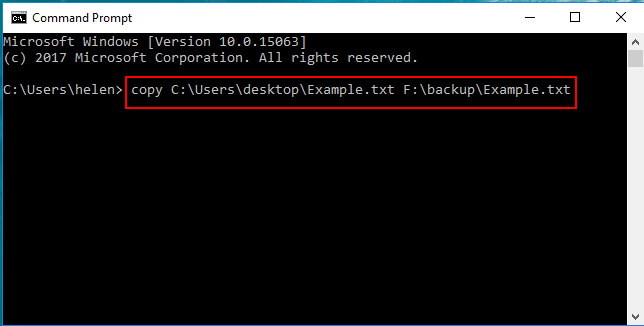 Copy Hard Drive Data from the Command Prompt