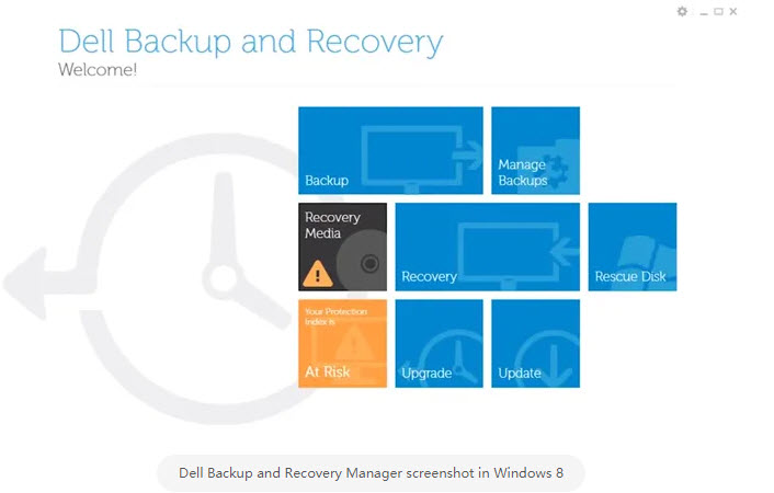 windows 8 recovery media