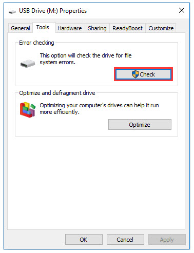 error checking