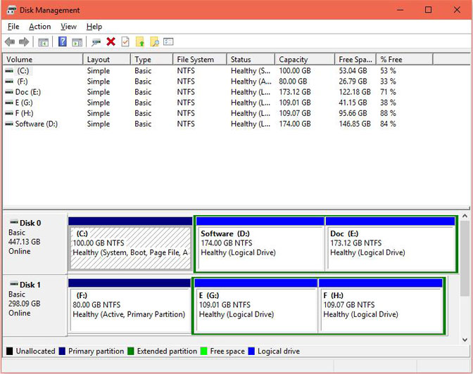 extract lost wordpad file with disk management 1