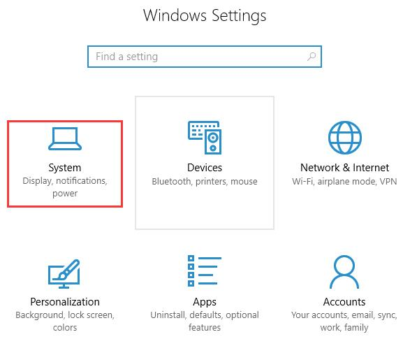 windows 10 file explorer won't open - change display settings