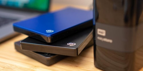 fix raw external hard drive by simple checks