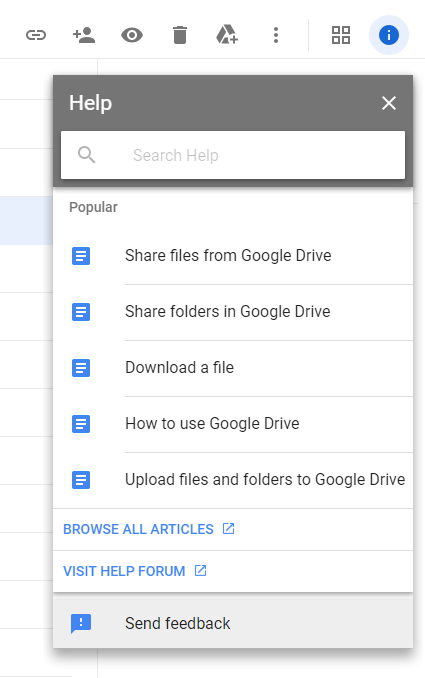 google-drive-send-feedback