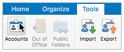 microsoft outlook accounts