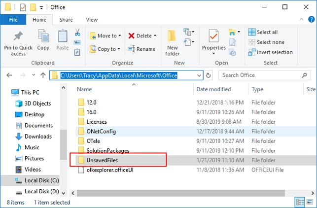 recover overwritten excel file