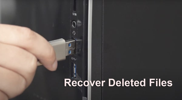 recover deleted files from flash drive