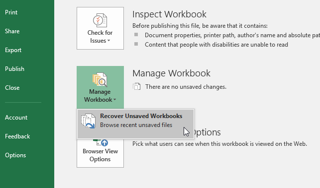 Where Does Excel Store Temp Files How To Recover If Lost