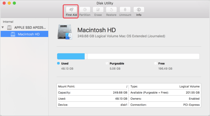 Mac/Macbook Pro Keeps Restarting Due to a Problem - Repair Any Corrupted Files