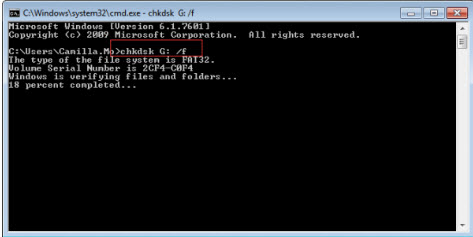repair disk with cmd