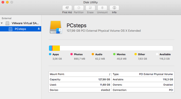 Resizing Partition in Mac with Disk Utility [2019 Updated]