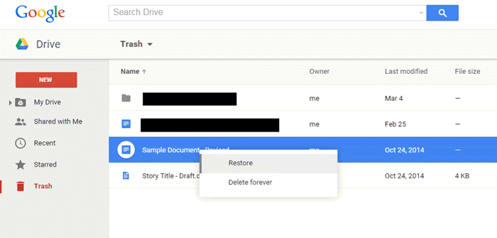 How to Recover Permanently Deleted Files from Google Drive?