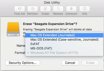 select-file-system-mac