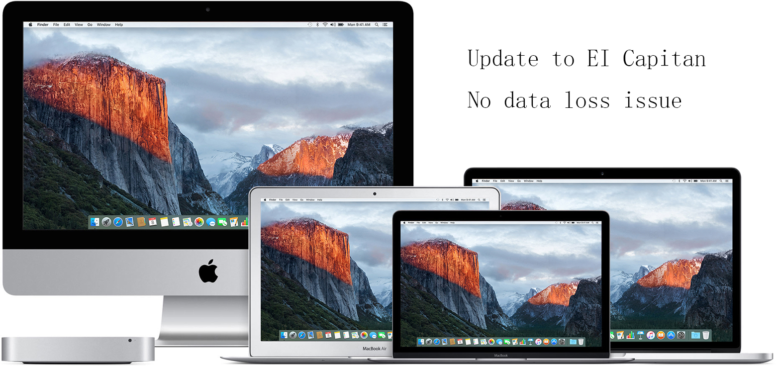 upgrade to OS X El Capitan