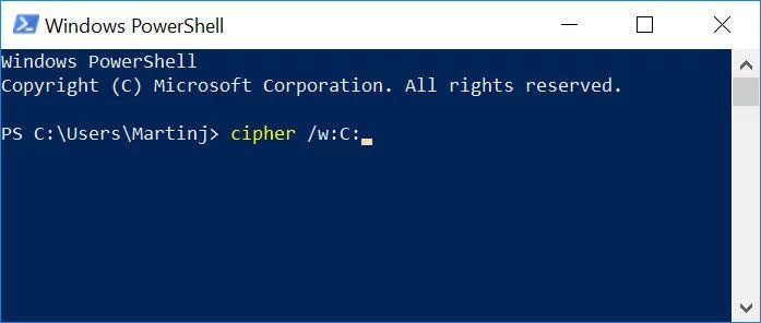 windows-cipher