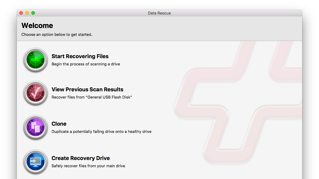 Best data recovery apps for Mac - data rescue 5