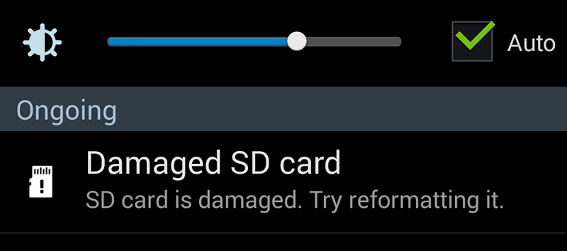 restore damaged sd card recovery