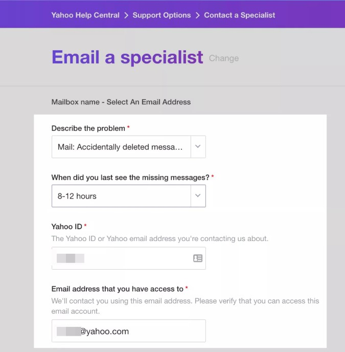 Top 3 Solutions to Recover Yahoo Email [Updated 2019]